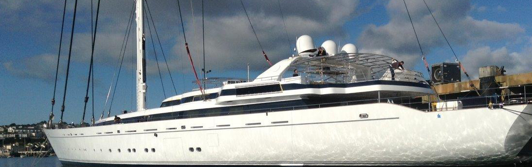 on everything, including superyachts.